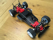 Tamiya TA01 New Built Touring Car Chassis: TA02 TA03 Top Force