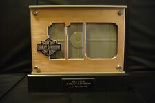 NEW Harley-Davidson 110th Anniversary LED Lighted Double Sided Photo Frame
