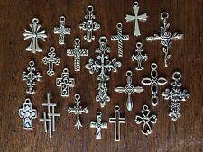 21 CRoSS LoT MiXeD StyLeS ChArMs PeNdaNTs ReLiGiOn