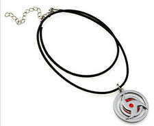 Naruto itachi kakashi Sya Rin Gan Necklace Pendant Anime Cosplay US Ship