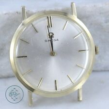 Vintage 14K Yellow Gold OMEGA - Swiss Movement Classic Design - Watch Mens