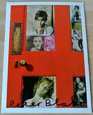 Sir Peter Blake Signed Autograph Official Postcard GIRLIE DOOR CCA Galleries COA