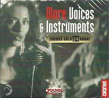 More Voices And Instruments Various 24 Carat Zounds Gold CD New Sealed Audio 23