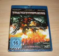 Blu-Ray Disc - Transmorphers ( Robot Wars ) Blue Ray Bluray Neu OVP
