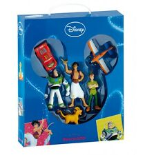 DISNEY GIFT BOX SET FIGURE ALADDIN PETER PAN IL RE LEONE CARS TOY STORY PLANES 1