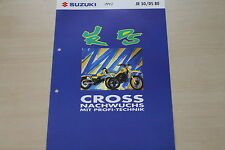 170144) Suzuki JR 50 DS 80 Prospekt 12/1992