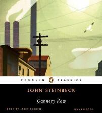 Penguin Audio Classics: Cannery Row by John Steinbeck (2011, CD, Unabridged)