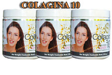 COLAGINA 10,COLLAGINA 10, COLAGINA  collagen10(195 gr)Hydrolized -  ( 3-PACK )