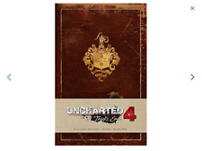 UNCHARTED 4 - A Thieves End HardCover Ruled Journal Large w Pocket Nathan Drake