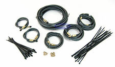 Tandem Axle Long Trailer Brake Line Kit with Flexible Hydraulic Rubber Hoses