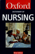 Tanya A. McFerran A Dictionary of Nursing (Oxford Paperback Reference) Very Good