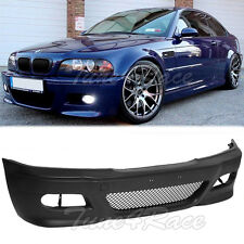 For 99-05 BMW E46 3-Series 4Dr M3 Style Front Bumper Cover Conversion Sedan