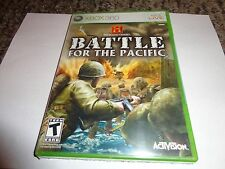 History Channel: Battle for the Pacific  (Xbox 360, 2007) NEW