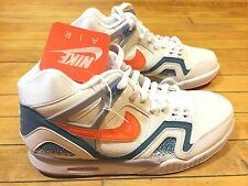 NIKE AIR TECH CHALLENGE II QS TART 643089-184 SZ10 US OPEN SUPREME LAVA FRENCH