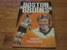 1984-85 BOSTON BRUINS Yearbook RAY BOURQUE TERRY O'REILLY BARRY PEDERSON