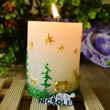 Christmas Candle Mold Silicone Soap Molds DIY Craft Tools Decoration Chocolate