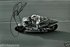Freddie Spencer Fast Freddie 500cc World Champion Moto GP Hand Signed Photo AC