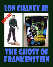 """SIDESHOW UNIVERSAL MONSTERS 12"""" LON CHANEY Jr from THE GHOST OF FRANKENSTEIN MIB"""