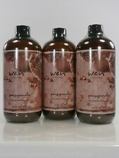 WEN Pomegranate Cleansing Conditioner With Pump  Lot of 3 - 16 Oz + FREE SAMPLE