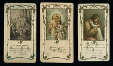 lotto santini-holy cards lot-lot images pieuses-konvolut heiligenbildichen 2428