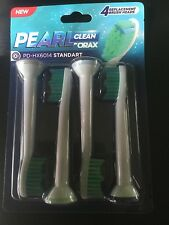 ORAX Pearl Care Replacement Brush Heads for Sonicare Toothbrushes 4 pack