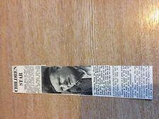 k1-1 ephemera 1961 article whistle down the wind bernard lee hayley mills