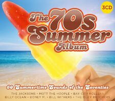 THE 70'S SUMMER ALBUM  3 CD NEU MELANIE/SWEET/TOTO/BILLY OCEAN/+