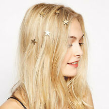 5 Wedding Bridal Star Spiral Hair Pins Hairpin Bridesmaide Hair Accessories