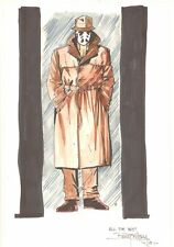 Rorschach from Watchmen Color Commission - 2008 Signed art by Barry Kitson