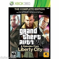 Grand Theft Auto IV 4 Complete Edition Xbox 360 Brand New Sealed Fast Shipping