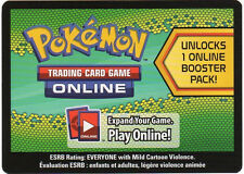 Pokemon Dragons Exalted Promo Code Card for Pokemon TCG Online