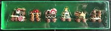 NEW Gingerbread Cookie Santa Christmas Tree Small Train