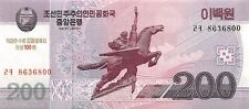 Korea North 200 Won 2012 Unc pn New, 100th Anniversary of Kim Il Sung's Birthday