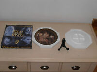 Lord of the rings. BNIB Limited Edition Collectors Plate. Frodo. Great Condition
