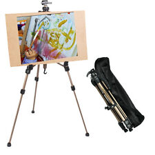 Artist Aluminium Alloy Folding Painting Easel Adjustable Tripod and Carry Bag