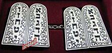 10 COMMANDMENTS TALLIT CLIPS - Judaica Tallis - Jewish Prayer Shawl - Gift