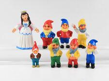 Schneewittchen und die 7 Zwerge === Walt Disney 8 Figuren Fischer