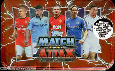 1 box of 2012-13 Match Attax Collectors Tins (12 Tins) --Great Value!