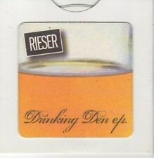 (BK781) Rieser, Drinking Den EP - Ltd Ed DJ CD no 119
