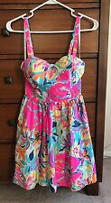Lilly Pulitzer Dress Size 00 Beautiful Floral!!