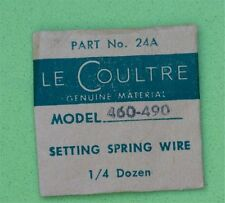 Jaeger Lecoultre ladies vintage Lecoultre 460-490 setting spring wire part 24A