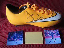 LEICESTER CITY - FOXES - ENGLAND JAMIE VARDY HAND SIGNED NIKE MATCH BOOT - COA