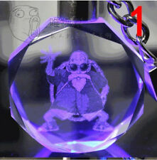 Dragon Ball Dragonball Z old man Crystal Key Chain LED key chains best gift
