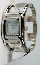 Chico's Women's Polished Silver-Tone Bangle Watch CH-892. New and unworn.