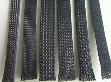 POLYESTER BRAIDED SLEEVING FOR CABLE DRESSING | FITS CABLE UP TO 12MM DIAMETER
