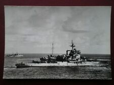 POSTCARD MILITARY VESSELS HMS WARSPITE - NATIONAL MARITIME CARD 214