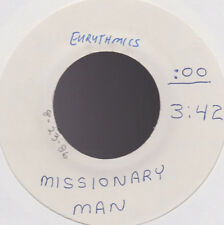 Eurythmics Missionary Man Test Pressing UK 45 With Out Picture Sleeve