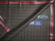 "DORMEUIL 100% WOOL ""Vintage Sportex"" SUITING FABRIC  – MADE IN ENGLAND – 3.4 m."