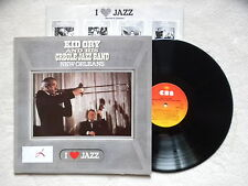 """LP KID ORY AND HIS CREOLE JAZZ BAND """"New Orleans"""" CBS 21061 HOLLAND §"""