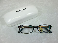 Nine West Women's Eyeglass Frames NW8000 031 Grey Blue Horn Rx-able